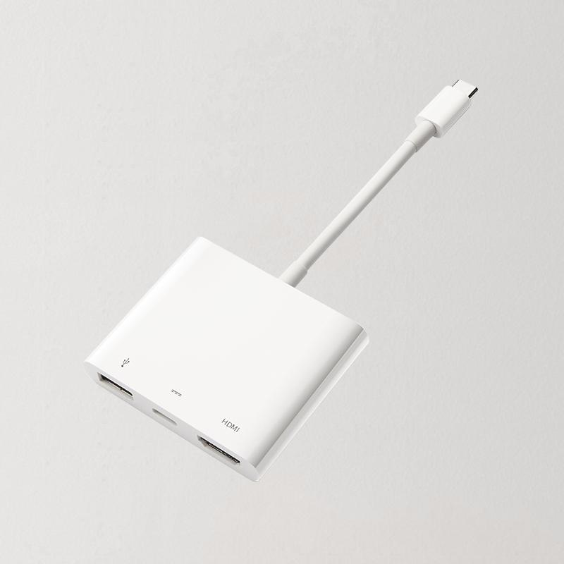 网易智造USB-C至HDMI多功能转换器 (白色)