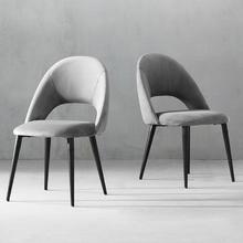 现代简约餐椅 布款(2把)