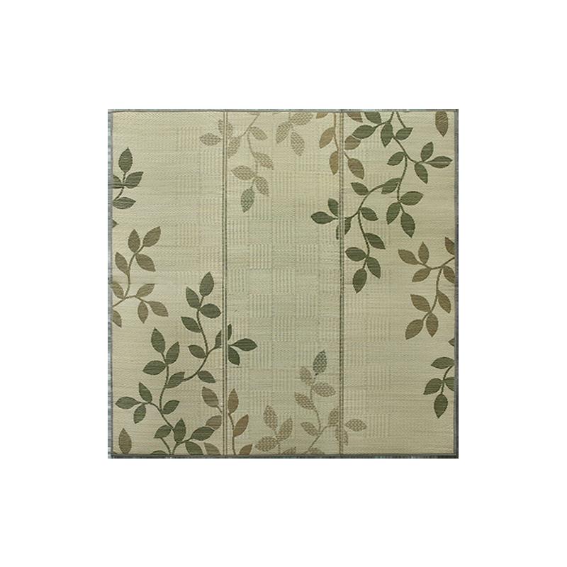 可折叠亲肤蔺草爬行垫地垫 (200*200*1cm)