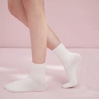 网易严选 女式纯棉高弹中筒袜