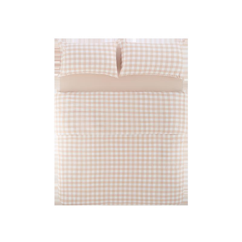 粉色大格纹(床单款)