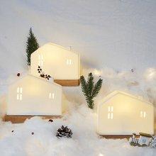 雪屋·陶瓷氛围夜灯