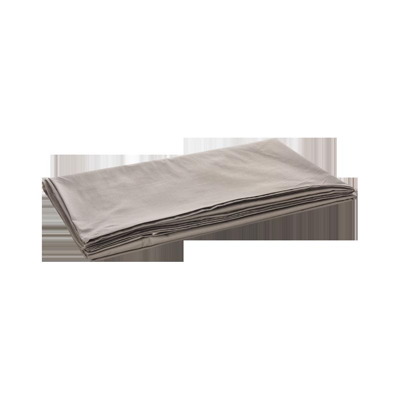 更高级的亲肤感,300根水洗棉缎纹床单 (烟褐色 ; 245*250cm(1.5米床))