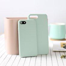 牛奶系列纯色手机壳