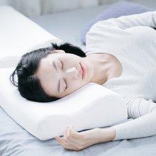 升级款护颈波浪记忆枕  加翼枕面包枕