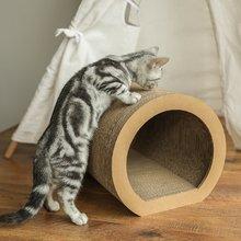 隧道型猫抓板