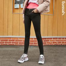 Yessing女式春季弹力塑形牛仔裤