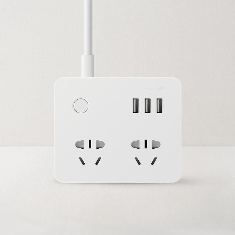 网易智造小方盒智能插线板-Pro版 (白色)