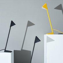 几何三角台灯