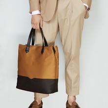男式大容量手提帆布包